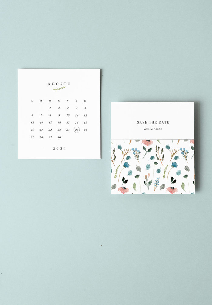 Save The Date garden