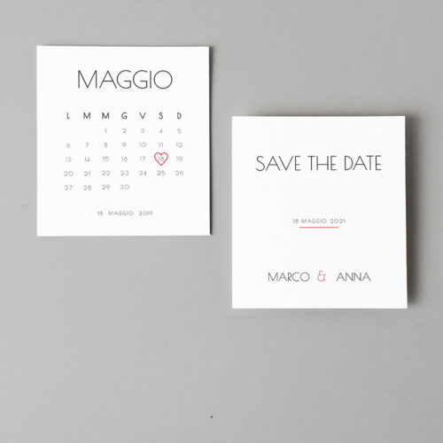 Save The Date minimal