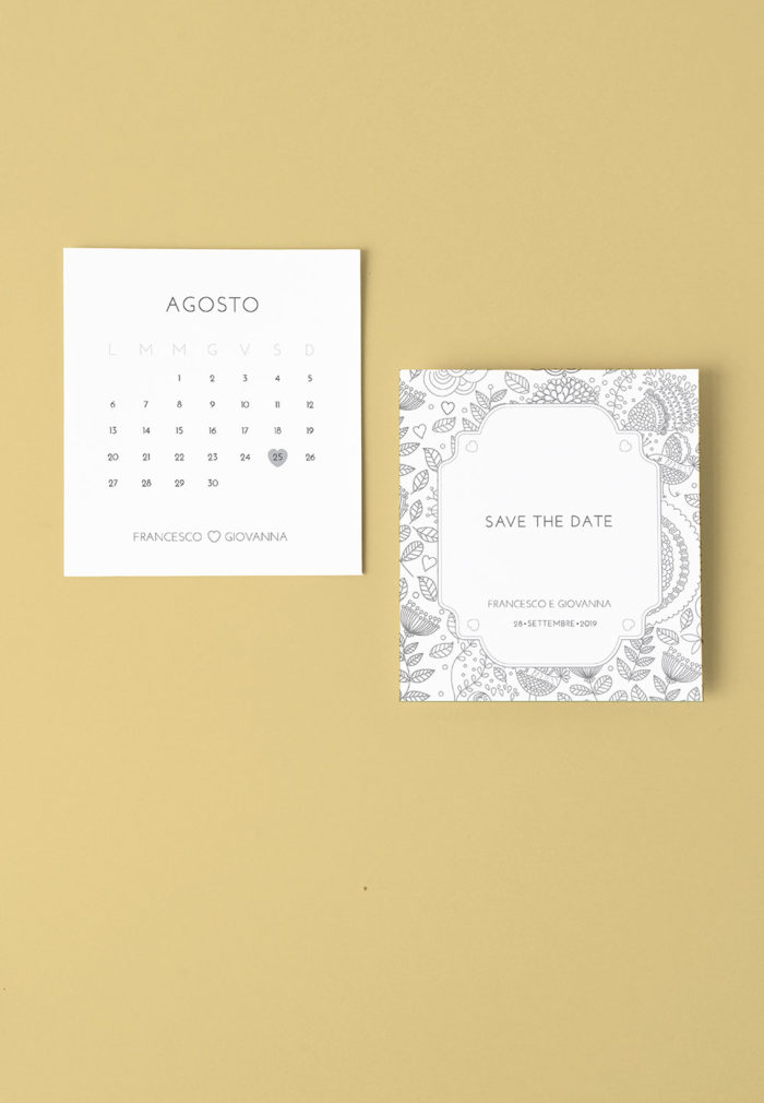 Save The Date narciso